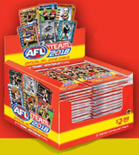 2018 Teamcoach AFL 36 pack box