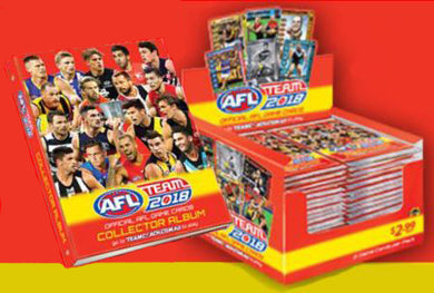 2018 Teamcoach AFL Sealed Box & Album/Folder