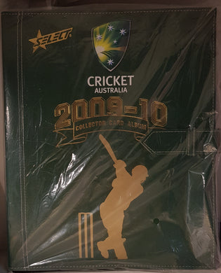 2009-10 Select Cricket Australia Folder
