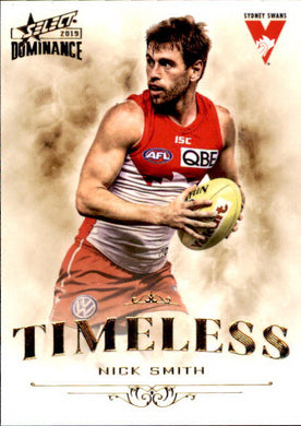 Nick Smith, Timeless, 2019 Select AFL Dominance