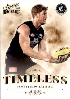 Matthew Lobbe, Timeless, 2019 Select AFL Dominance