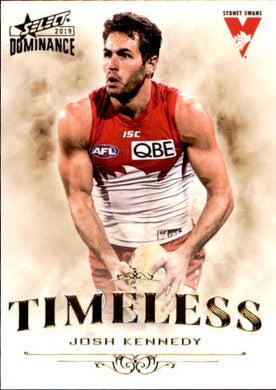Josh Kennedy, Timeless, 2019 Select AFL Dominance