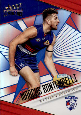Marcus Bontempelli, Holofoil Parallel, 2019 Select AFL Dominance