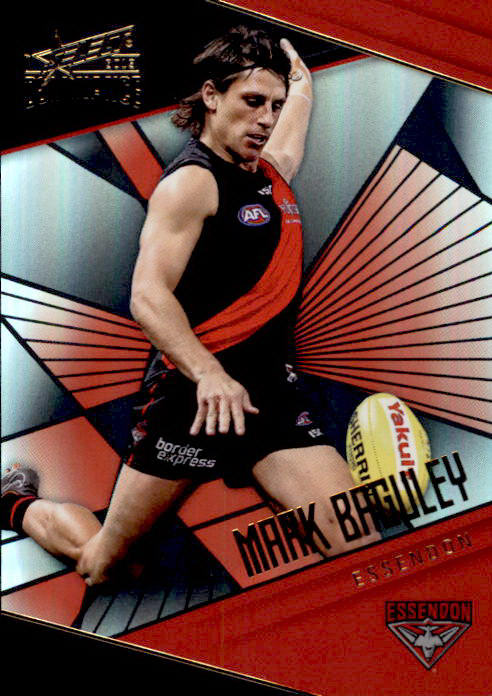 Mark Baguley, Holofoil Parallel, 2019 Select AFL Dominance