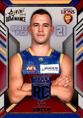 Ely Smith, Rookie Card RC, 2019 Select AFL Dominance