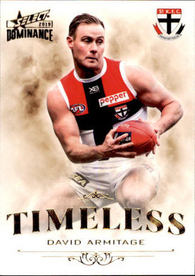 David Armitage, Timeless, 2019 Select AFL Dominance