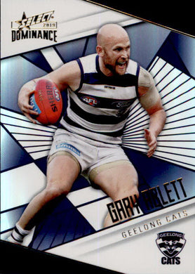 Gary Ablett, Holofoil Parallel, 2019 Select AFL Dominance