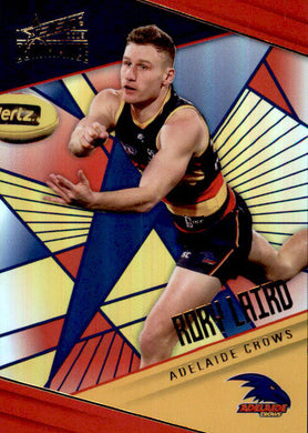 Rory Laird, Holofoil Parallel, 2019 Select AFL Dominance