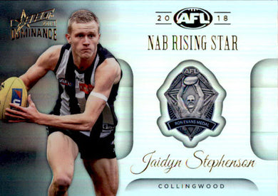 Jaidyn Stephenson, NAB Rising Star, 2019 Select AFL Dominance