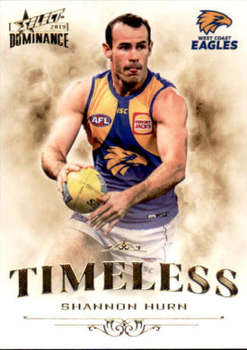 Shannon Hurn, Timeless, 2019 Select AFL Dominance