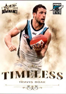 Travis Boak, Timeless, 2019 Select AFL Dominance