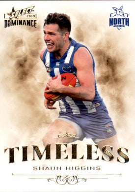 Shaun Higgins, Timeless, 2019 Select AFL Dominance