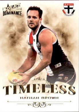 Nathan Brown, Timeless, 2019 Select AFL Dominance