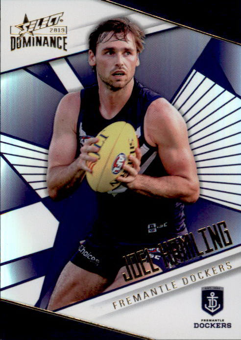 Joel Hamling, Holofoil Parallel, 2019 Select AFL Dominance