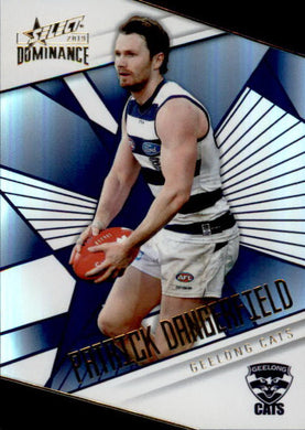 Patrick Dangerfield, Holofoil Parallel, 2019 Select AFL Dominance