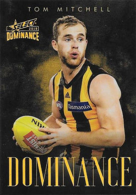 Tom Mitchell, Dominance, 2019 Select AFL Dominance