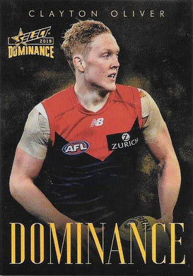 Clayton Oliver, Dominance, 2019 Select AFL Dominance