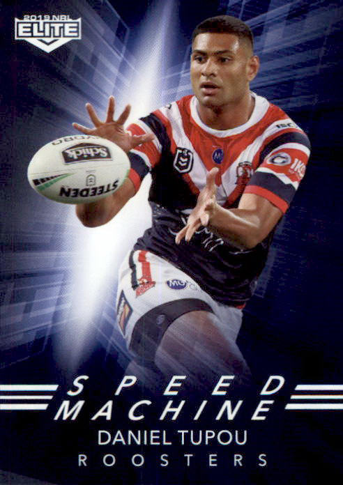 Daniel Tupou, Speed Machine, 2019 TLA Elite NRL