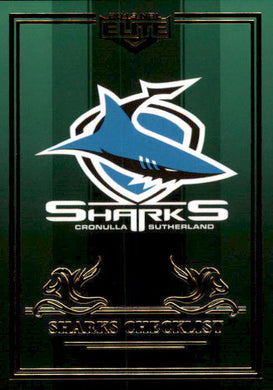 Cronulla Sharks, Emerald Mojo Set, 2019 TLA Elite NRL