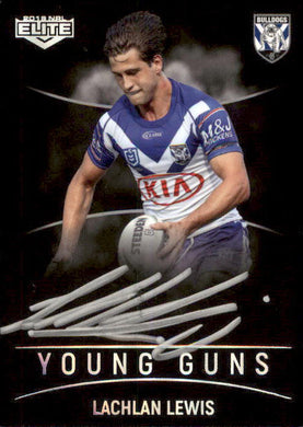 Lachlan Lewis, Black Young Guns Signature, 2019 TLA Elite NRL