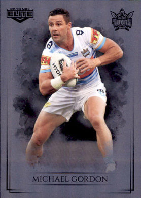 Michael Gordon, Silver Special Parallel, 2019 TLA Elite NRL