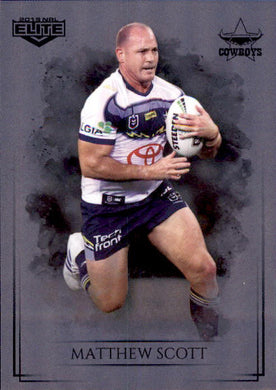 Matthew Scott, Silver Special Parallel, 2019 TLA Elite NRL