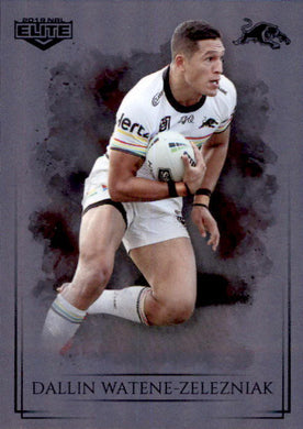 Dallin Watene-Zelezniak, Silver Special Parallel, 2019 TLA Elite NRL