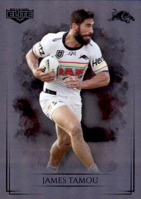 James Tamou, Silver Special Parallel, 2019 TLA Elite NRL