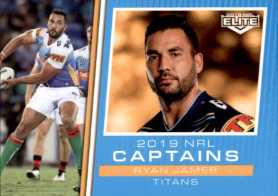 Ryan James, Captains, 2019 TLA Elite NRL