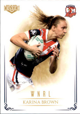 Karina Brown, WNRL, 2019 TLA Elite NRL