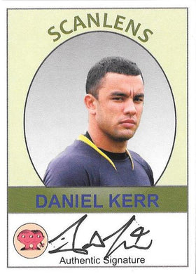 2019 Scanlens VFL, Daniel Kerr Signature and Base Card