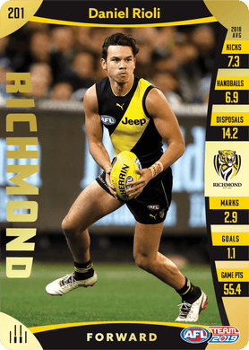 Daniel Rioli, Gold, 2019 Teamcoach AFL