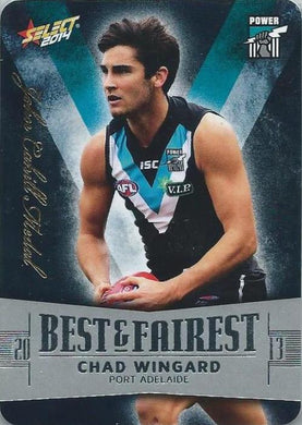 Chad Wingard, Best & Fairest, 2014 Select AFL Champions