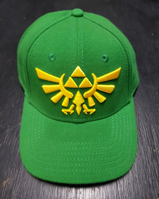 Zelda Green Fitted Cap/Hat