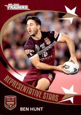RS30 Ben Hunt, Representative Stars, 2020 TLA Traders NRL