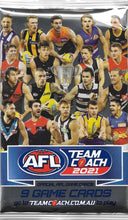 2021 Teamcoach AFL Pack