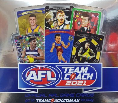 2021 Teamcoach AFL 36 pack box