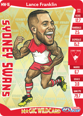 Lance Franklin, Magic Wildcard, 2019 Teamcoach AFL