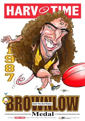 John Platten, Brownlow Harv Time Poster