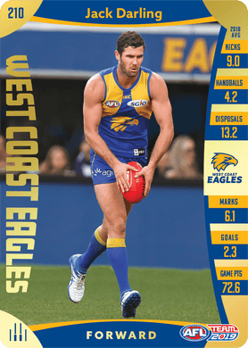 Jack Darling, Gold, 2019 Teamcoach AFL