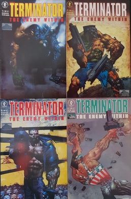 The Terminator The Enemy Within Comic Set of 4. #1, #2, #3 & #4