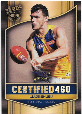 Luke Shuey, Certified 460, 2017 Select AFL Certified
