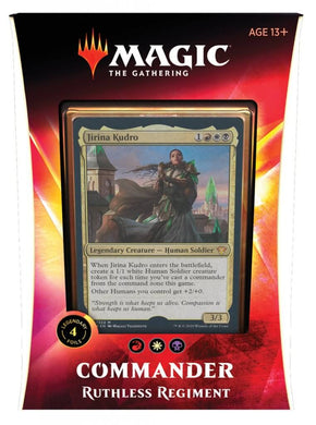 MAGIC: THE GATHERING Ikoria: Lair of Behemoths - Ruthless Regiment Commander Deck