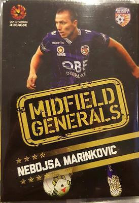 2015-16 Tap'n'play FFA A-League Soccer Midfield Generals, Marinkovic, # MG-09