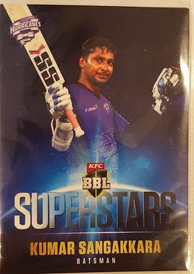 2015-16 Tap'n'play CA BBL 05 Cricket, Superstars, Kumar Sangakkara, SS-07