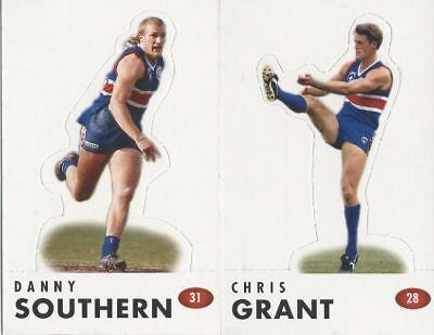 1996 Select WESTERN BULLDOGS AFL Pop-up Set GRANT LIBBA