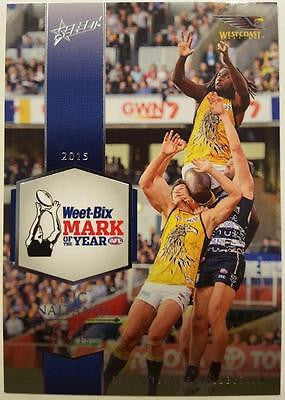 2015 Select AFL Ultimate Collection, Nic Naitanui, Mark of the Year