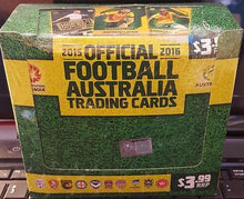 2015-16 Tap'n'play FFA, A-League, Sealed Box of Cards, Soccer