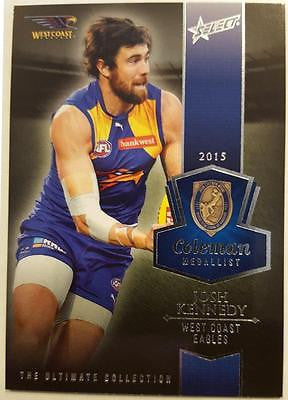 2015 Select AFL Ultimate Collection, Josh Kennedy, Coleman Medallist, Westcoast