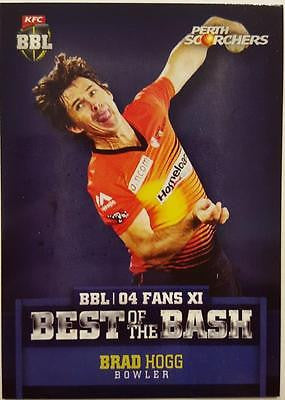 2015-16 Tap'n'play CA BBL 05 Cricket, Best of the Bash, Brad Hogg